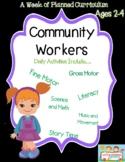 Community Helper preschool curriculum