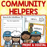 Community Helpers - Activities for Career Day and Learning About Jobs
