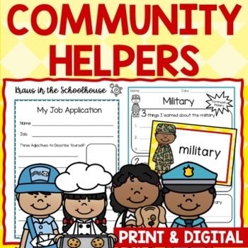 Community Helpers - Activities for Career Day and Learning