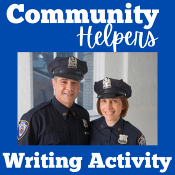 Community Helpers Writing Kindergarten | Community Helpers Writing Template