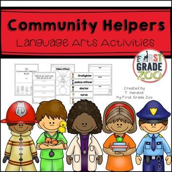 Community Helpers- Literacy Based Activities