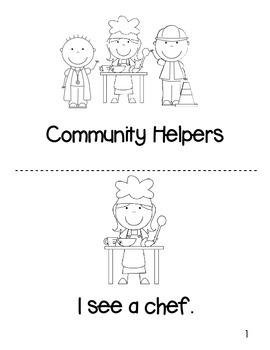 Community Helpers Mini Unit