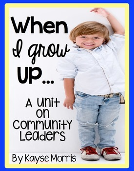 Community Helpers Lessons, Unit, Posters, and More