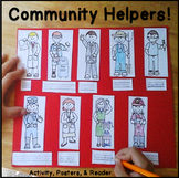 Community Helpers Crafts & for Preschool, Kindergarten