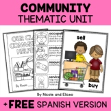 Thematic Unit - Community Helper Activities