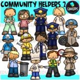 Community Helpers 2 Clip Art (Educlips Clipart)