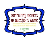 Community Helpers 20 Questions Game