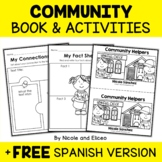 Community Helpers Activities and Book