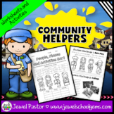 Community Helpers Activities and Worksheets (Labor Day Act