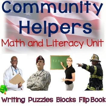 Community Helpers Math and Literacy Unit