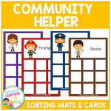Community Helpers Sorting Mats