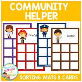 Community Helpers Sorting Mats