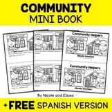 Mini Book - Community Helpers Activity