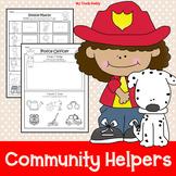 Community Helpers Activities (Kindergarten, Community Help