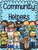Community Helpers Activities NO PREP