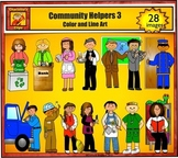 Community Helpers 3 - Jobs and Career Clip art by Charlotte's Clips