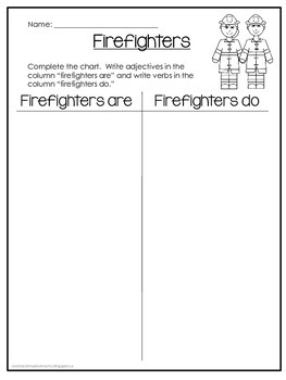 Community Helpers - 53-page Printable Workbook