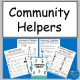 Community Helpers Worksheets Social Studies
