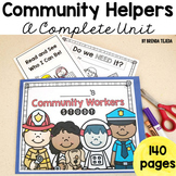 Community Helpers: A Complete Unit! Literacy, Math, Social Studies