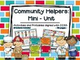 Community Helpers: A Mini-Unit