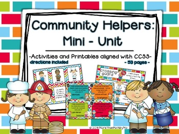 Community Helpers: A Mini-Unit