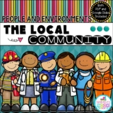 The Local Community & Community Helpers -Distance Learning