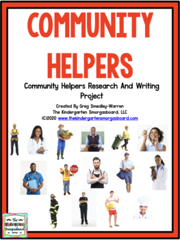 Community Helpers: A Research And Writing Project with Mat