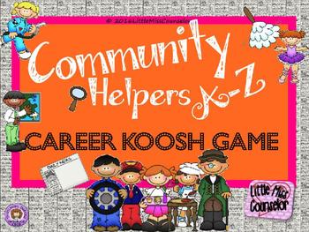 Community Helpers A-Z PowerPoint version