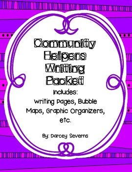 Community Helpers A-Z Writing Packet