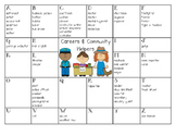 Community Helpers {A to Z Chart}