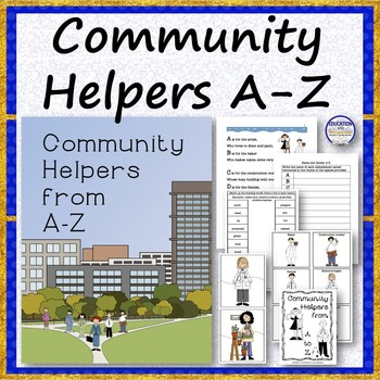COMMUNITY HELPERS A to Z Rhyme Bundle