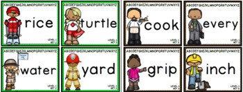 Alphabetical Order Game, Worksheets, Make Your Own Book-90 ABC OrderTask Cards!!