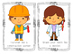 Community Helpers Action Cards {Color}