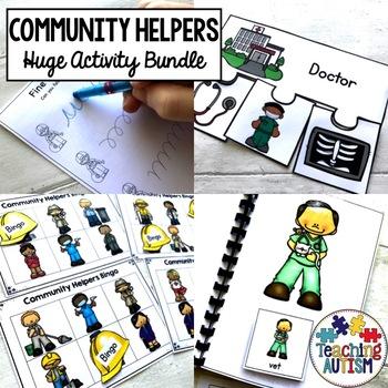 Community Helpers Activity Bundle