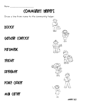 Labor Day Worksheets for Kids - Preschool and Kindergarten