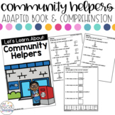 Community Helpers Adapted Book & Comprehension for Special