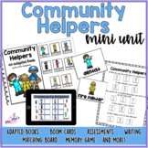 Community Helpers Adapted Book