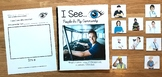 "Community Helpers Adapted Book--""I See People In My Community"" (w/Real Photos)"