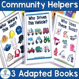 Community Helpers Adapted Book Bundle