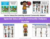 Community Helpers Adapted Books and Bingo Game Bundle