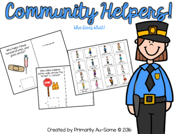Community Helpers (An Adapted Book)
