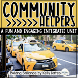 Community Helpers Thematic, Integrated Unit Bundle