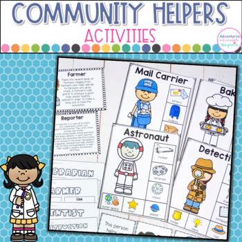 Community Helper Mini Unit- Charts, Printables and Game