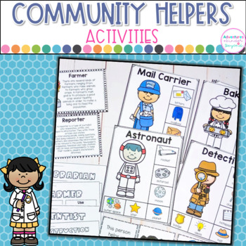 Community Helpers Mini Unit- Charts, Printables and Game