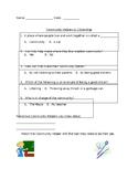 Community Helpers Assessment