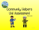 Community Helpers Assessment Activity