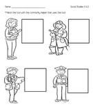 Community Helpers Assessment (Social Studies K.4.2)