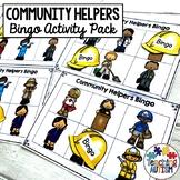 Community Helpers Bingo Game