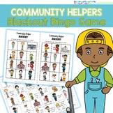 Community Helpers Bingo - Blackout!