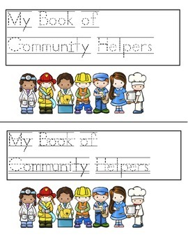 Community Helpers Book